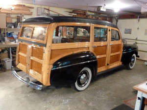 Full restoration of wood on this 1941Ford Super Deluxe Woody. Also have restored a 1938 Ford Woody Station wagon.